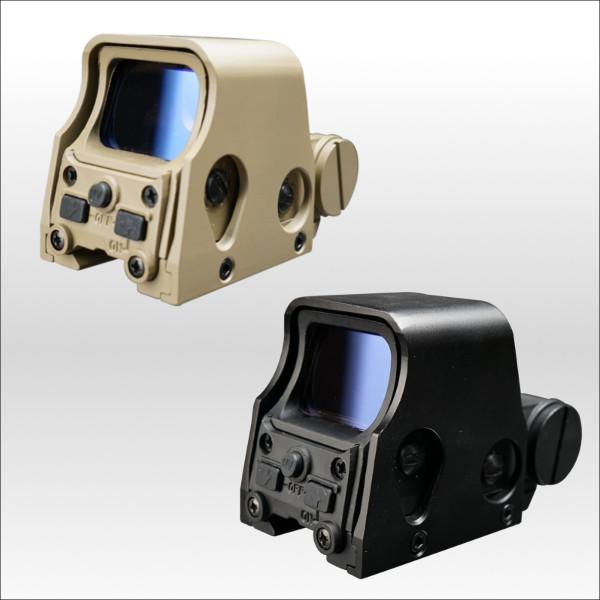 【RSBOX】高性能ホロサイト ドットサイト ホログラフィックサイト エアガン ショート タン ブラック
