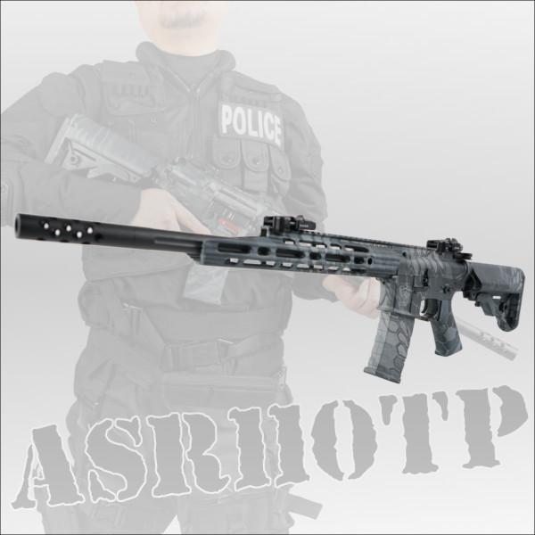 APS コルト M4 Guardian Advance Special Rifle BlackCam フルメタルブローバック電動ガン ASR-110TP エアガン ミリタリー