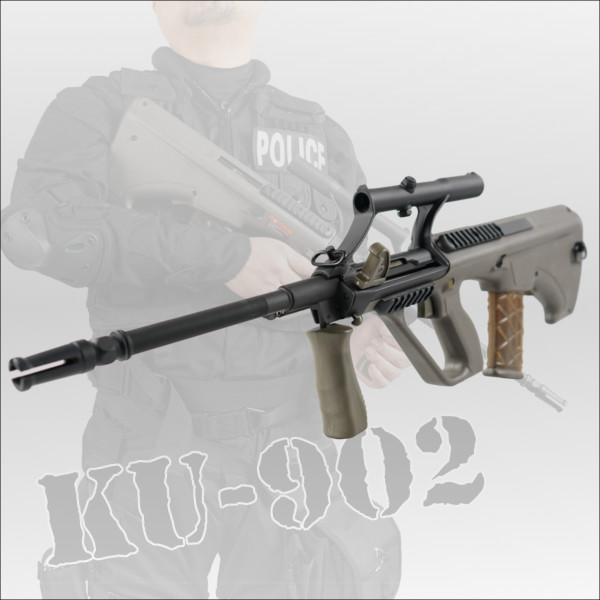 APS ステアーAUG A1 Military Model with Adjustable Scope 電動ガン KU-902 エアガン ミリタリー