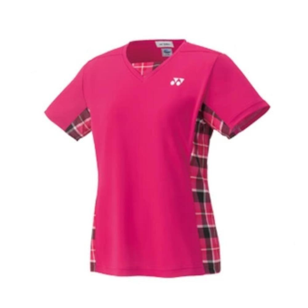 数量限定 アウトレット ヨネックス YONEX 贈り物 バドミントン テニス ウィメンズゲームシャツ - ダークピンク 248 奉呈 スリム O 20396
