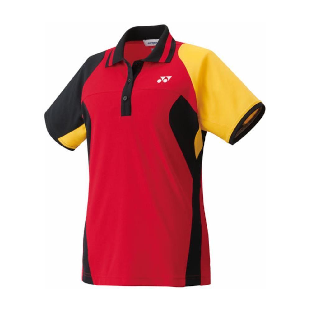 数量限定 アウトレット ヨネックス YONEX バドミントン テニス ウィメンズゲームシャツ スリムロング クリスタルレッド 送料無料お手入れ要らず 20232 - M 688 安売り