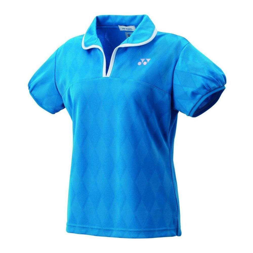 数量限定 毎日がバーゲンセール アウトレット ヨネックス YONEX バドミントン 価格 交渉 送料無料 テニス ウィメンズゲームシャツ インフィニットブルー スリム M 20437 506 -