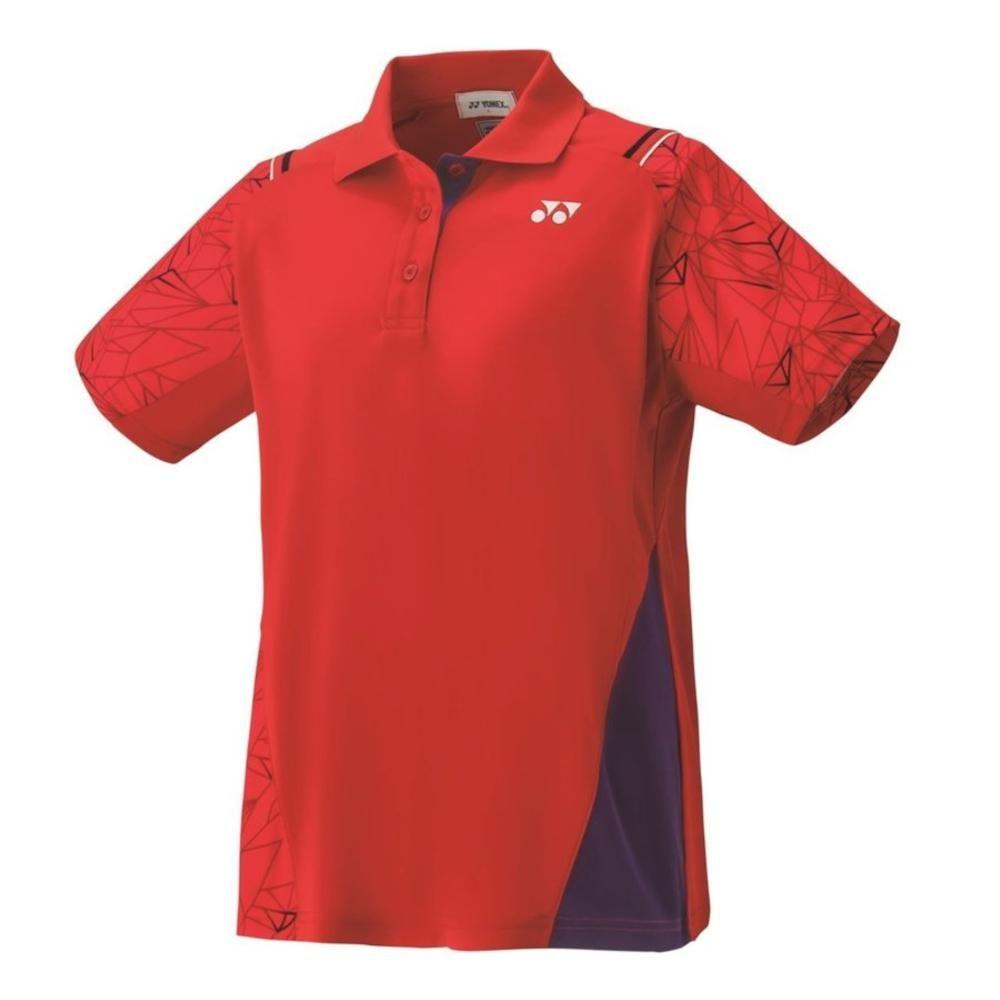 数量限定 アウトレット ヨネックス 休み YONEX 在庫あり バドミントン テニス ウィメンズゲームシャツ S サンセットレッド レギュラー - 496 20393
