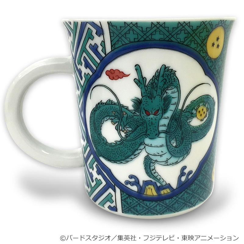爆売り ドラゴンボール 九谷焼マグカップ 有名な 開運七龍珠図