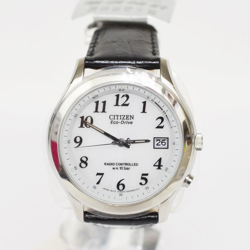 【中古】CITIZEN シチズン FORMA フォルマ 電波時計 腕時計 FRD59-2395 ビジネス USED-A 02274