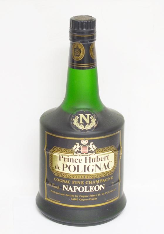 【中古・未開栓】プリンスユベール ポリニャック ナポレオン 700ml 40度 洋酒 古酒 箱無 01806