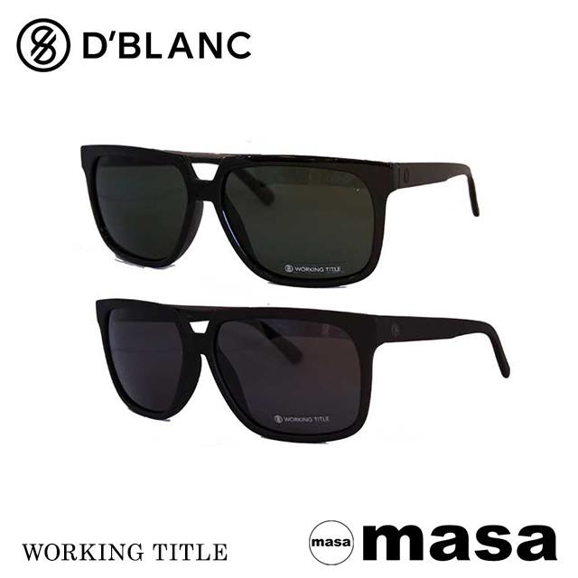 ディーブランク サングラス D'Blanc サングラス WORKING TITLE