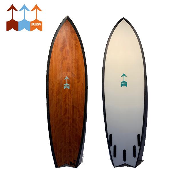 ヘス サーフボード HESS SURFBOARDS The Traveler 5'10