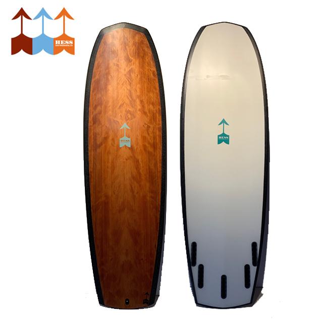 ヘス サーフボード HESS SURFBOARDS The Box 5'8