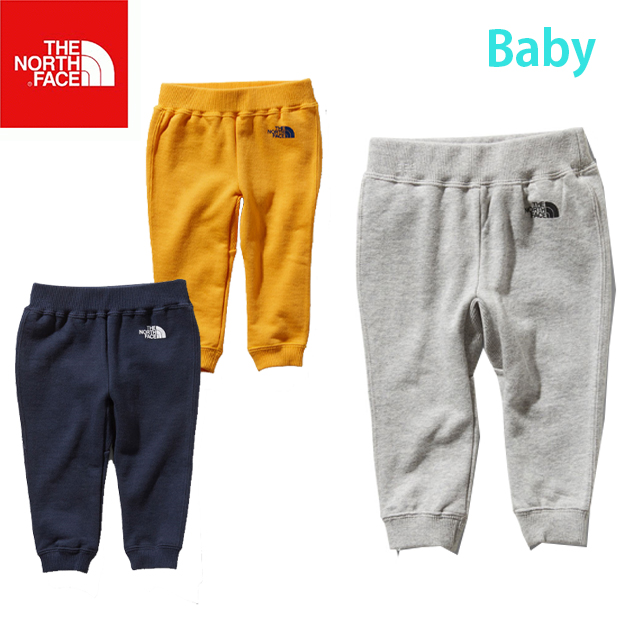 09b3cd3a6 THE NORTH FACE North Face SWEAT LOGO PANT sweat shirt logo underwear (baby)