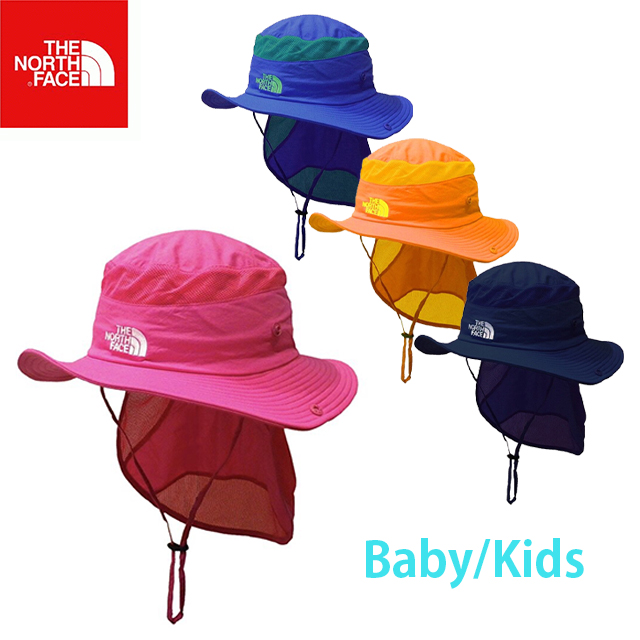 The North Face North Face Kids Sunshield Hat Kids Sun Shield Hat Sunshade Awning Uv Cut Hat Kids Baby Nnj01905