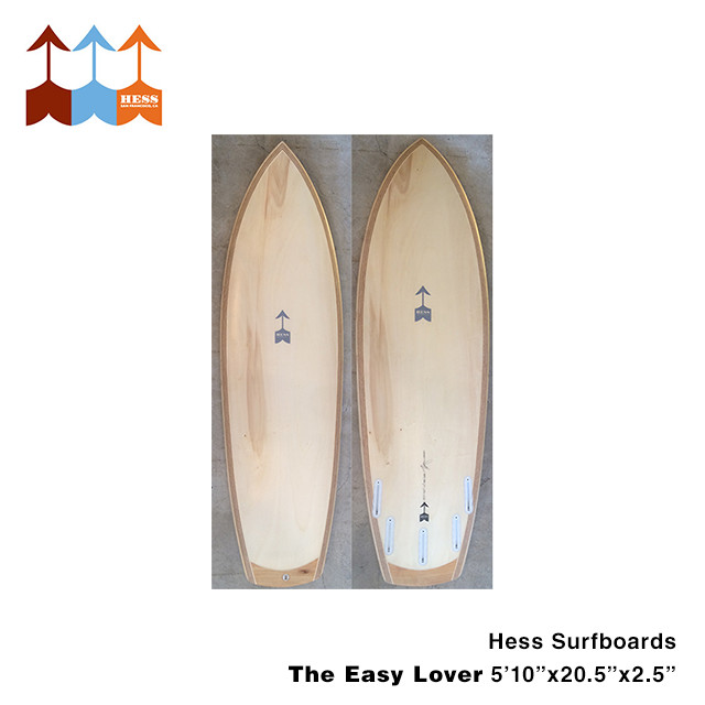 ヘス サーフボード Hess Surfboards The Easy Lover