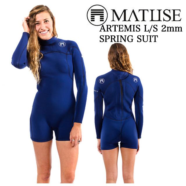 MATUSE マテュース ウェットスーツ ARTEMIS L/S SPRING SUIT