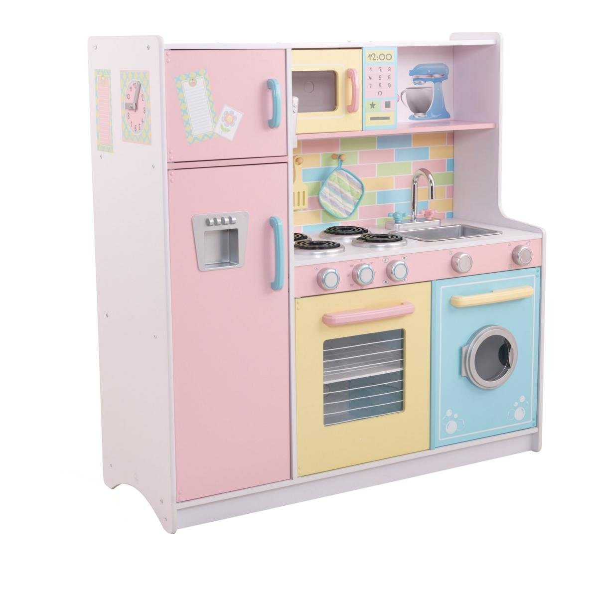 This Kidkraft Play Kitchen Is Great For Both Girls And Boys Its Made