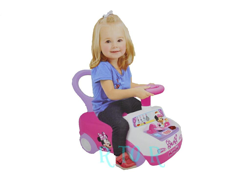 ディズニー ミニー 【KIDDIELAND アクティビティ ライドオン/乗用玩具】 Disney Activity Ride-On Minnie