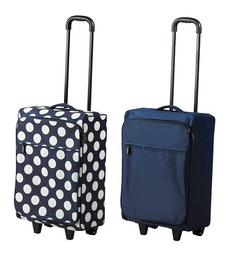 IKEA folding cabin bag with casters carry bag / suitcase travel bag / shopping cart