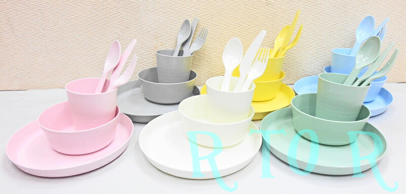 Colorful IKEA IKEA ♪ Dinnerware Set 36 Piece Set ☆ For Baby And Kids  Dinnerware Set