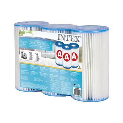 送料無料 3個セット INTEX 新品未使用 A 浄化ポンプ用フィルターカートリッジ 宅送