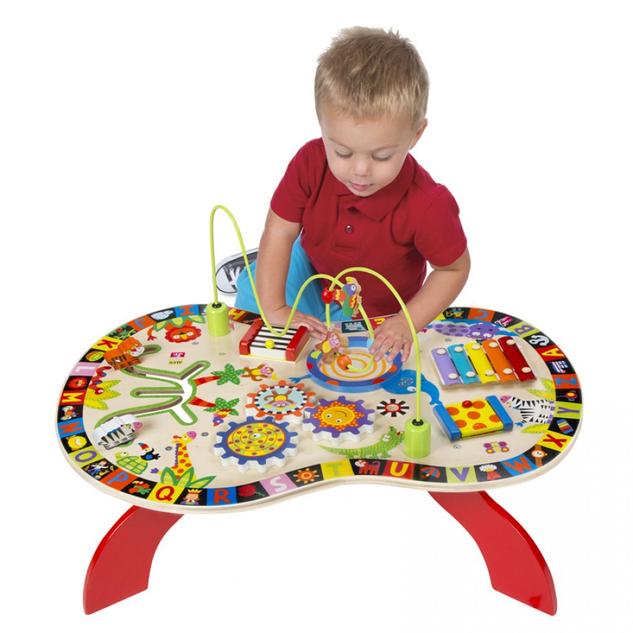 ALEX Junior Childrenu0027s Activity Table Sounds U0026amp; Play Busy Tables/baby  Toys/18