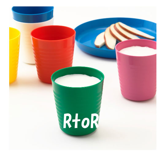 Tableware for IKEA IKEA colorful ♪ tableware set 36 pieces set ★ baby / kids