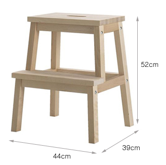 Ikea Wooden Stool Step