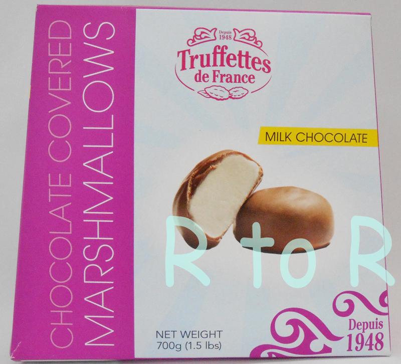 松露德法國巧克力覆蓋棉花糖 700 g TRUFFETTES de 法國做出的牛奶巧克力和果汁軟糖/法國