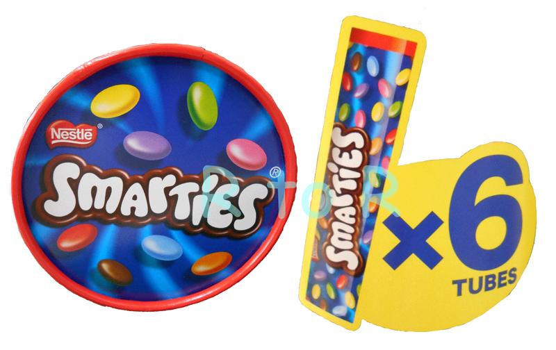 Nestle Smarties chocolate 139 g x 6 book set Smarties Germany