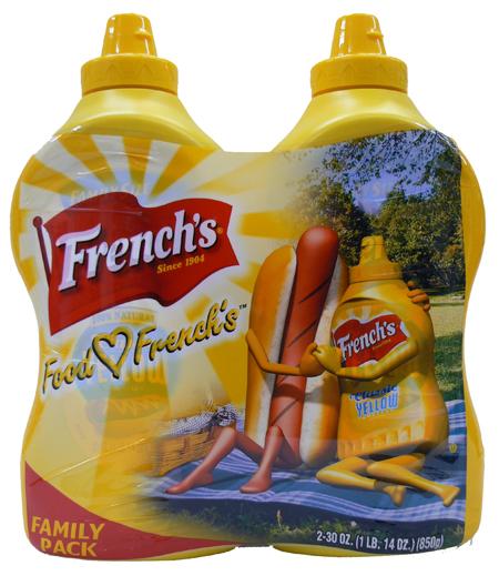 ※予告なくパッケージが変更になる場合がございます お得2本セット 値引き French's 2020新作 フレンチ マスタード 850g×2個セット業務用 アメリカで人気NO.1