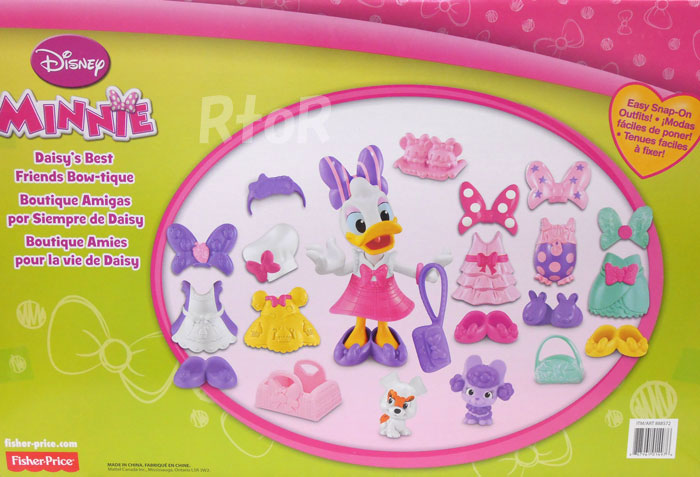 迪士尼雏菊鸭Best Friends Bow-tique Daisy Fisher-Price