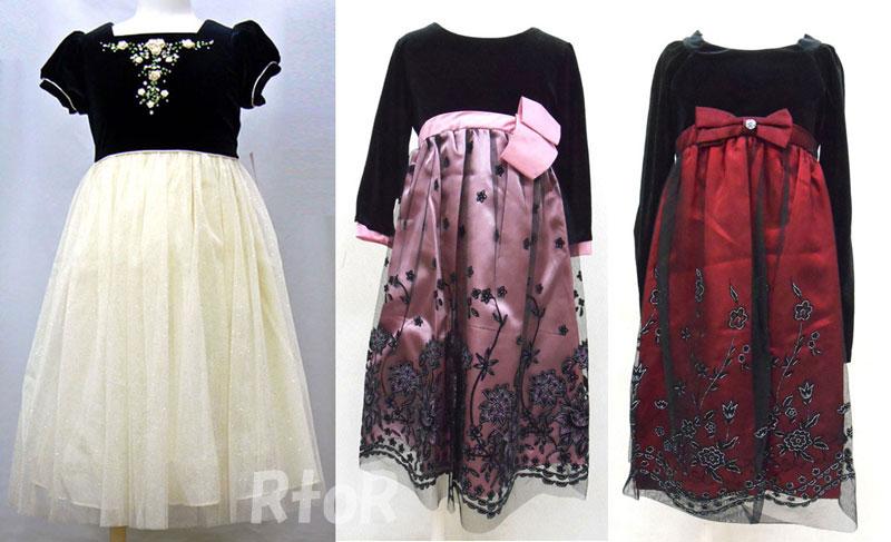rtor: Children's formal dress for 3 to 8-