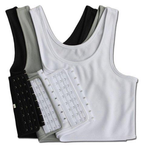 色違い3色セット!なべシャツ 胸つぶし コスプレ 男装用 (L)