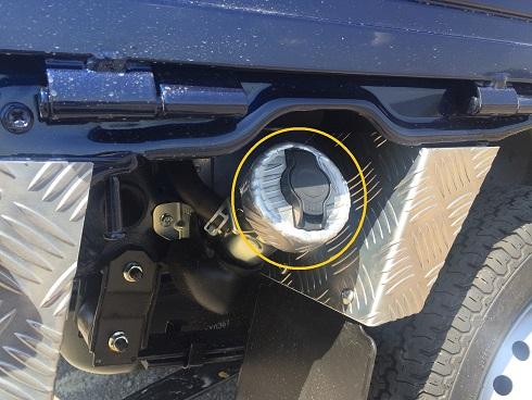アルミ縞板 スズキ DA16T用 リアコーナーカバー キャリイ標準車
