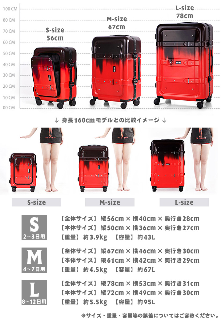スーツケース S サイズ フロントオープン トランク 小型 アルミフレーム 前開きポケット ABS+PC Wキャスター TSA トランクケース キャリーケース 旅行用 キャリーバッグ 軽量 おしゃれ かわいい 送料無料 あす楽対応YDHIEbeW29