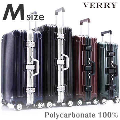 【抗菌消臭加工済み】 スーツケース M サイズ 高級PC100%ボディ 中型 高品質 ワイドフレーム ダブルキャスター ダイヤルロック TSA スーツケース キャリーケース キャリーバッグ ハードキャリー ブランド 人気 おすすめ 送料無料 あす楽対応