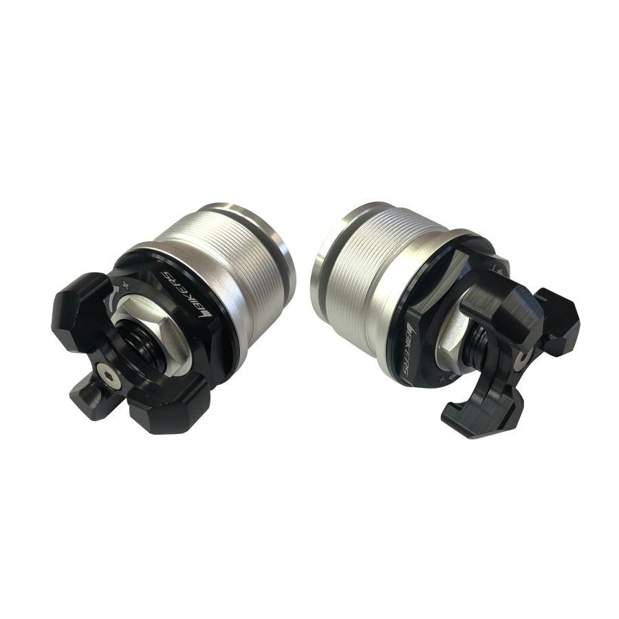 バイカーズ FRフォークアジャスター ブラック Ninja400/250 18-19/REBEL レブル500/250 17-19 フロントフォーク