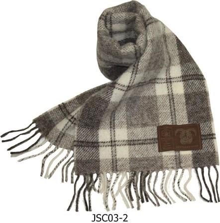 マフラー メンズ イギリス製 ジェイコブ・ウール 英国製最高級羊毛 Green Grove Weavers【あす楽対応】