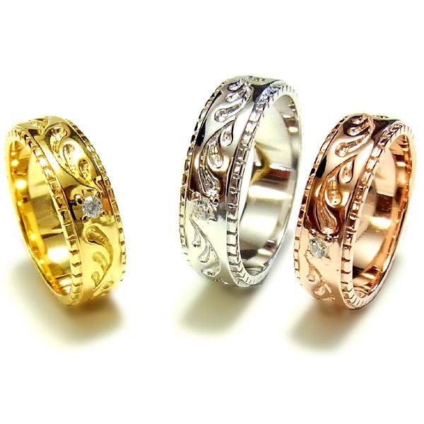 ハワイアンジュエリー リリ エグゼクティブ プラチナ 仕上げ リング 指輪 レディース メンズ シルバー925 誕生日 記念