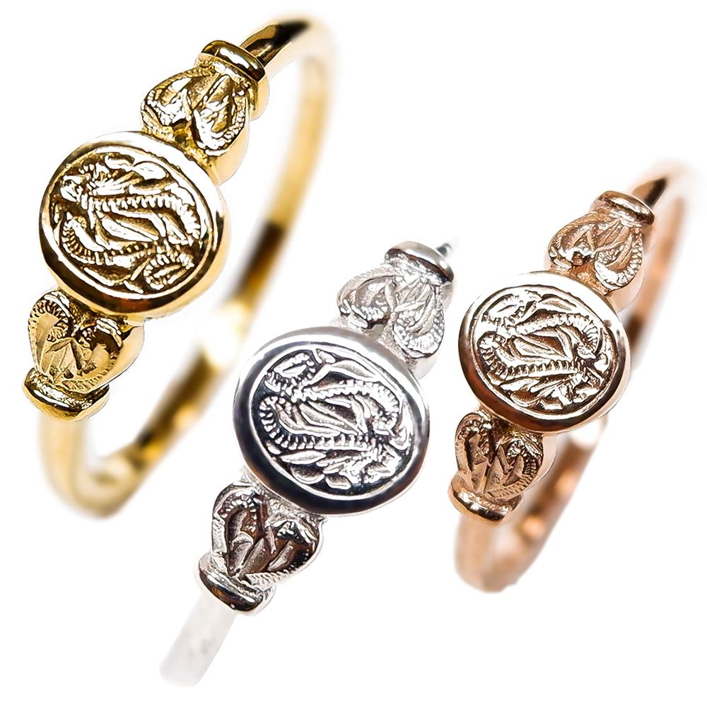 送料無料 シルバー K14 買収 ゴールド ピンクゴールド 特価キャンペーン ハワイアンジュエリー リング 指輪 サージカル 金属アレルギー対応 ギフト ステンレス メンズ レディース ペアリング プレゼント