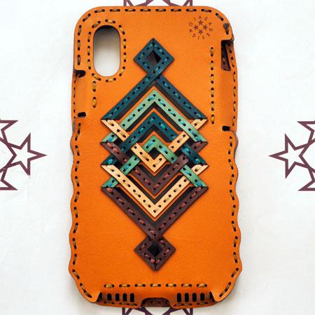 【SALE】【20%OFF】【OJAGA DESIGN】 オジャガ デザインiPhone X/XS ケース PISCESアイフォンケース