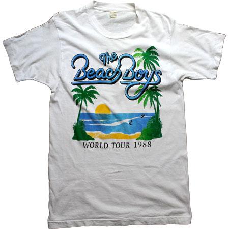 【BEACH BOYS】ビーチ・ボーイズビンテージロックTシャツ【中古】