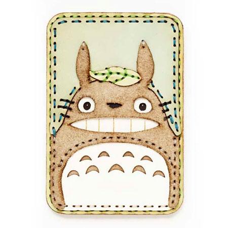 【ojaga design × スタジオ・ジブリ】オジャガ デザイン × スタジオ・ジブリ Card Case (定期入れ) 大トトロ・カード&パスケース 【となりのトトロ】