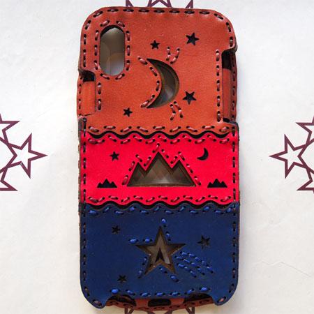 【OJAGA DESIGN】 オジャガ デザインiPhone X/XS ケース HILLアイフォンケース