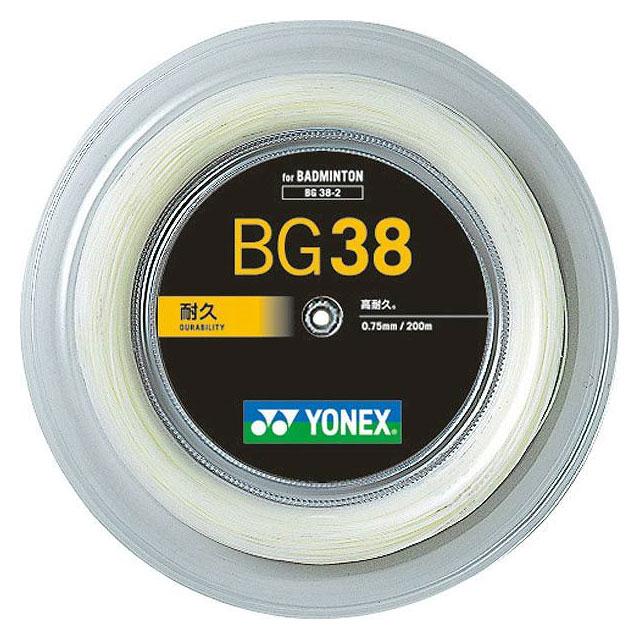 美しい YONEX BG38 ヨネックス バドミントン ストリングス ストリングス BG382 BG382 BG38 耐久, カスタムパーツ ネクストドア:c6c1b60c --- canoncity.azurewebsites.net