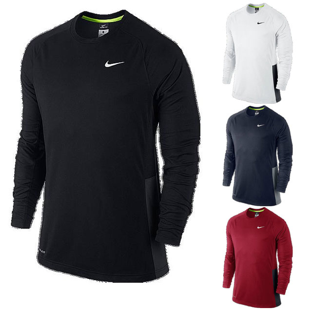 6a14660a43 Rugbino  Nike t-shirt DRI-FIT crossover l s shooting top 677538 NIKE fitness -training wear