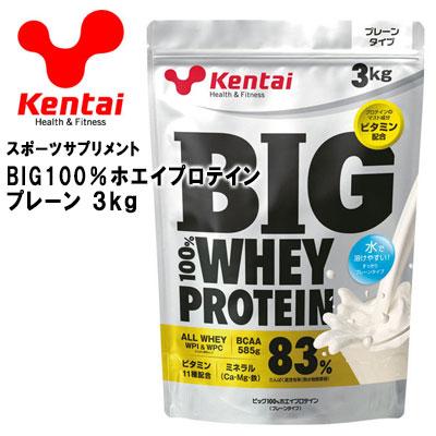 ケンタイ BIG100%ホエイプロテイン プレーン Kentai 健康体力研究所 K320