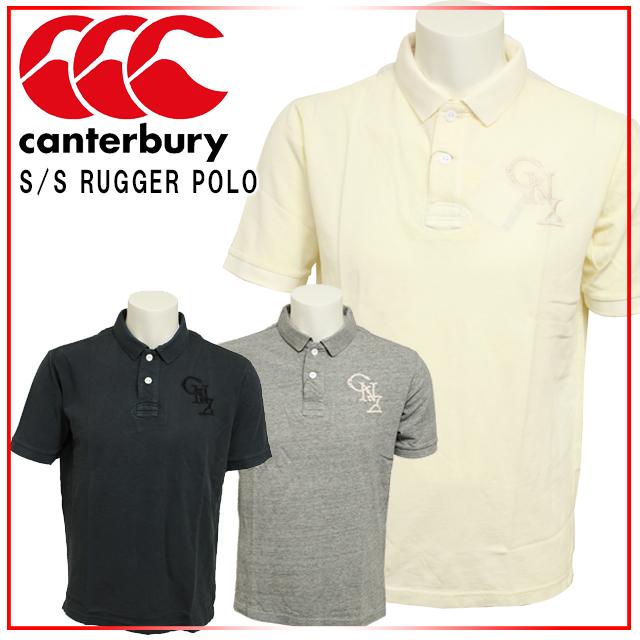 ☆☆ カンタベリー トラッド&クラシック ラグビーシャツ 胸と衿裏にワンポイントのロゴが入ったシンプルなラガーシャツ RA36168 canterbury