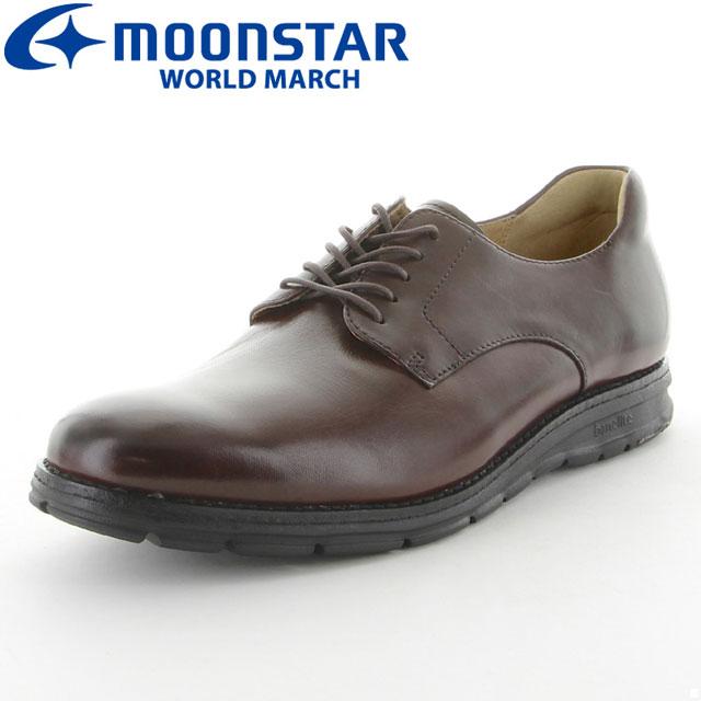 ムーンスター ビジネスシューズ ワールドマーチ WM3086 革靴 カジュアルシューズ メンズ MS シューズ