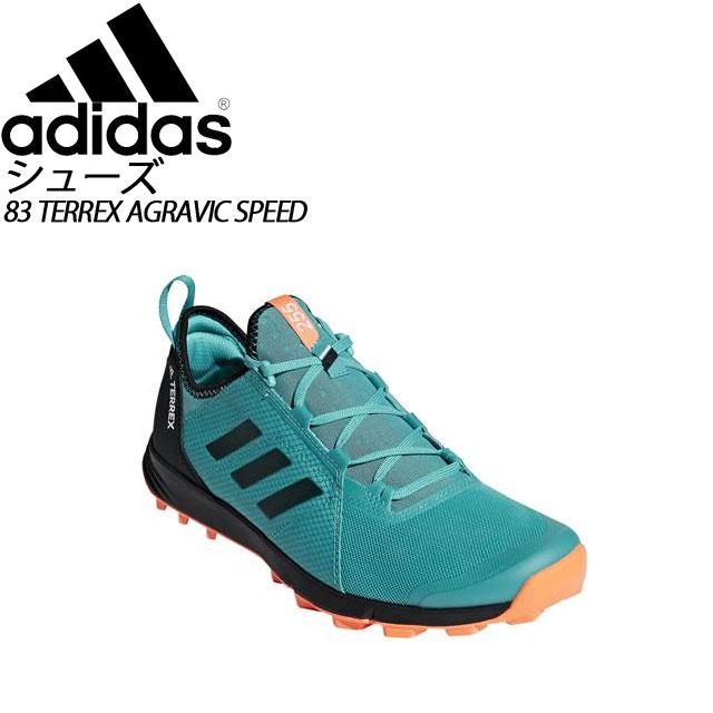 アディダス アウトドア シューズ 83 TERREX AGRAVIC SPEED adidas AC7898 トレイルランニングシリーズ メンズ