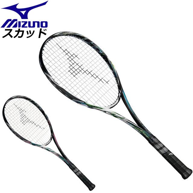 ミズノ ソフトテニス ラケット スカッド05-C MIZUNO 63JTN856 前衛特化型ラケット 男女兼用