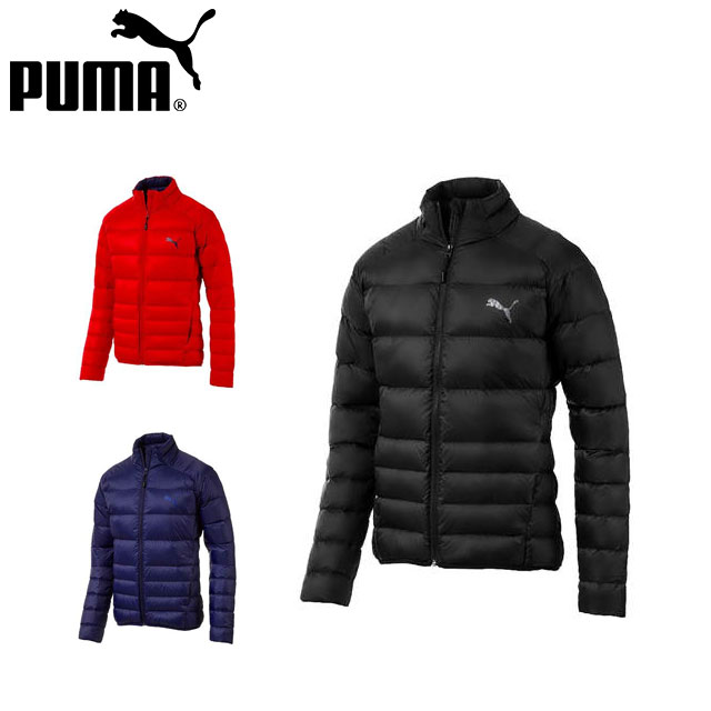 プーマ メンズ ジャケット アウター ジップアップ 長袖 PWRWARM パッカブル LITE ダウン トレーニング 撥水 PUMA 853619